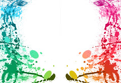 Colorful paint splashes background (dbtech8705) Tags: red white abstract black stain yellow modern illustration ink design blood colorful paint purple bright background grunge spot drop dirty dot drip fluid dirt messy droplet backdrop blob splash shape liquid inky splatter isolated splat spatter splashing blot splattered splodge