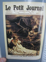 Le Petit Journal - 1916 (sixty8panther) Tags: world art turn wow magazine death one 1 book is cool artwork war tour grim reaper wwi cartoon journal first it le lepetitjournal mon worldwar ce grimreaper petit 1916 scythe angelofdeath thegreatwar serait img8082 isitmyturn seraitcemontour