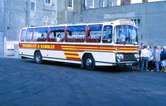 1986-09-03 135 MHT (WOC 729T) Leyland Leopard-Plaxton 135 of Shamrock & Rambler,  Weymouth (John Carter 1962) Tags: bus buses nbc leylandleopard shamrockrambler
