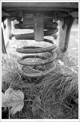Coil. (Strange Artifact) Tags: bw white black nikon kodak tmax 28mm cc f3 analogue expired zwart wit coolscan iv vivitar negatives 100asa 125 kiron ls40