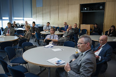 Participants listening during the Presentation