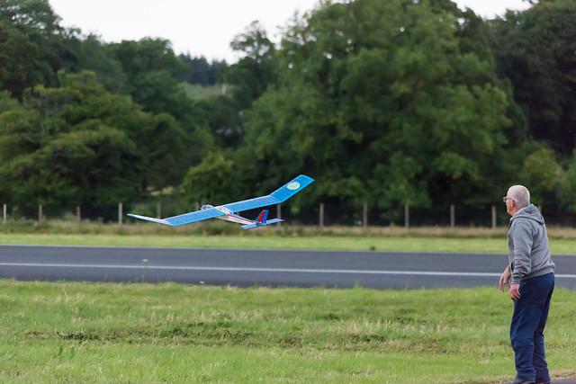 Arthur's powered glider