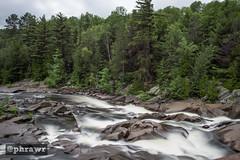 Onaping Falls (phrawr) Tags: trees ontario canada nature water river outdoors waterfall nikon hiking falls waterfalls northern d600 onaping