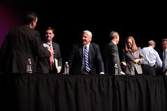 Ken Bennett, Doug Ducey, Fred DuVal, Barry Hess, Christine Jones, Frank Riggs & Scott Smith (Gage Skidmore) Tags: school arizona phoenix scott frank jones high commerce thomas doug forum central ken smith andrew christine governor barry fred chamber hispanic bennett duval hess riggs ducey abc15