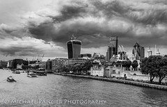 View of Tower of London and the Thames (Michael Pancier Photography) Tags: uk greatbritain travel vacation england london thames unitedkingdom gb riverthames towerhill travelphotography commercialphotography naturephotographer michaelpancierphotography landscapephotographer fineartphotographer michaelapancier wwwmichaelpancierphotographycom summer2014