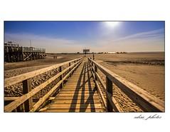 SPO (Lenslove-Photographie) Tags: beach strand meer bad peter nordsee sankt spo ording