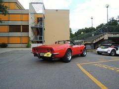 Corvette C3 Convertible (regular carspotting) Tags: classic chevrolet car stingray convertible oldtimer corvette musclecar c3