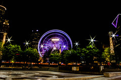 Runnin' around the city. Atlanta. (mikedunnit) Tags: city atlanta urban georgia downtown cityscape olympicpark centennialpark urbanite discoveratlanta