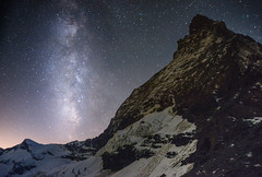 cervin (Alan Skones) Tags: matterhorn cervin zermatt swiss switzerland mountain toblerone stars milkyway toiles climbing hiking alpinisme aventre explore nuit night aventurier alain rey alan skones 4438m lifestyle nightstyle outdoor living life