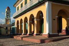 Trinidad in afternoon sun (PaulHoo) Tags: cuba city urban color 2015 trinidad architecture sun cityscape unesco square church