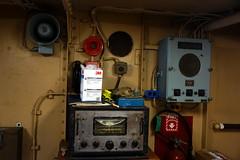 Lightship Interior, Boston MA (Boston Runner) Tags: lightship nantucket lv112 boston harbor massachusetts 1936 shipyard marina eastboston museum preserved interior radio equipment fire