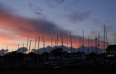 Thorpe Bay (John_E1) Tags: sunset thorpe bay essex evening masts clouds