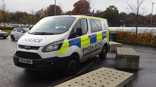 SF14 NKM FORD TRANIST CUSTOM POLICE SCOTLAND