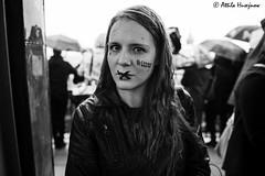 _ATI1243 (attila.husejnow) Tags: black protest blackmonday monday warsaw poland women woman abortion against demonstrate demonstration