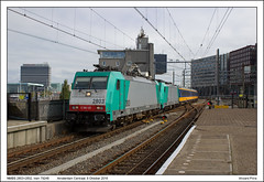 NMBS 2803+2832 - Amsterdam Centraal - 79248 (06-10-2016) (Vincent-Prins) Tags: nmbs 2803 2832 amsterdam centraal 79248 186125 186224