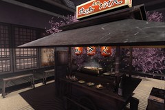 † 839 † (Nospherato Destiny) Tags: secondlife sl event decoration japanese ccb sakura yatai creatorscollectionbox
