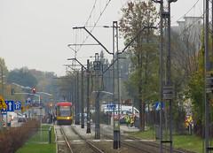 "Pesa 120Na ""Swing"", #3274, Tramwaje Warszawskie (transport131) Tags: tram tramwaj tw warsaw ztm warszawa pesa 120na swing"