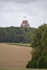View of the Thiepval Memorial from Connaught CWGC Cemetery (greentool2002) Tags: connaught cwgc cemetery common wealth war graves commission ulster tower somme france