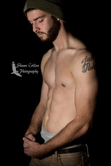 Model Jake (Shawn Collins Photography) Tags: model modeling shirtless beard bearded hairy masculine tattoo portrait portraitphotography chest abs arms muscle muscular fit fitness fitnessmodel men handsome shirtlessguy