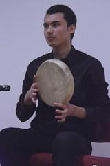 London Uyghur Ensemble (2016) 04 (KM's Live Music shots) Tags: worldmusic china uyghur londonuyghurensemble dap framedrum handpercussion drums opencentralasiainternationalfestival soas