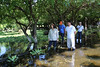 Limpieza laguna El Jocotal