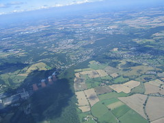 Ironbridge and the River Severn (Bryn Floyd) Tags: gliding clouds crosscountry thermals cirrus soagc