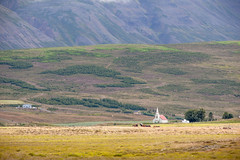 Lone Church at the Base of a Mountain _5512 (hkoons) Tags: skagarfjrurfjord christ church iceland architecture bay building faith faithful fiord fjord inlet island modern north philosophy religion saltwater sea sect water worship worshipers