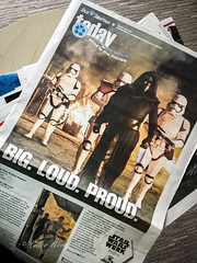 Star Advertiser's Today segment Goes to the Movies (Victor Wong (sfe-co2)) Tags: star advertiser newspaper wars today segment