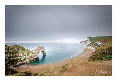 Durdle Door Canoeists (Ken Walker Photography) Tags: dorset beach landscape durdledoor jurassiccoast seascape coastline sand rocks