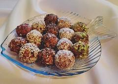 Raw Nutty Vegan Truffles (myhealthydessert) Tags: raw nutty vegan truffles paleo nuts dessert desserts balls bites sweets recipe