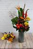 IMG_4771-3 (Garden Party Flowers) Tags: birdsofparadise callalily cymbidiumorchids florist flowers gladiolas orangearrangement rose tallarrangement vancouver