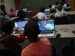 Live Minecraft Competition @ Haggard Library 11/23/16 (plano.library) Tags: minecraft macbooks allages steam competition haggard harrington library libraries libraryprogram plano planopubliclibrarysystem ppls tx computers