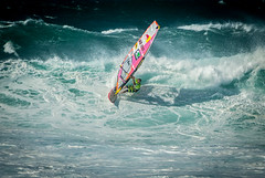 Robby Naish - Aloha Classic 2016 - Ho'okipa Beach Park (combinatorial) Tags: us1111 windsurfing windsurfer bigwaves waves wave sailing wavesailing