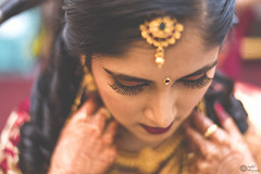 And she was an epitome of beauty (suadade) Tags: bride wedding red beautiful composition frame eyes