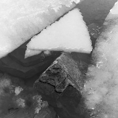 Stone And Ice Triangle (Duncan Rawlinson - Duncan.co - @thelastminute) Tags: 1jujepgitvugzayu5wutr9h4fxcsxsosf8 1by1 1x1 canada duncanrawlinsonphoto duncanrawlinsonphotography duncanco frost frosty iq250 ontario phaseone phaseoneiq250 photobyduncanrawlinson photowalkandtip1000islandsontariocanada shotwithaphaseoneiq250 spring2016 texture winter abstract art background beautiful beauty climate cold elegant frozen geometric geometry httpduncanco httpduncancostoneandicetriangle ice icy light musicalinstrument natural nature outdoor pattern polygon river rock shape square stone stones triangle wallpaper water white mallorytown ca