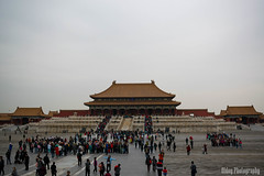 Tourism (Oidoy Photography) Tags: tourism lots tourists many loads forbidden city architecture building people