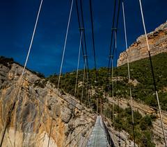 The bridge... Aragonese side path. (prals1969) Tags: montrebei catalunyaarag catalonia catalunya