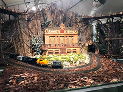 HTS-21 (Peter Parides) Tags: unitedstates christmas trains newyorkbotanicalgardens new york city newyork
