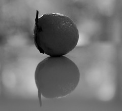 Still Life (markdavisleica) Tags: stillife abstract art mandarin reflection bokeh dof bw blackandwhite monochrome nikon d750 2470mm f28