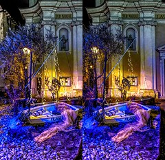 The migrants boat 3D (Foto&Grafica 2D/3D) Tags: rovereto trentino italy xmas natale christmas 3d stereoscopy stereophotography s