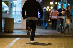 Crossing the street (mastermaq) Tags: edmonton pedestrians crosswalk downtown