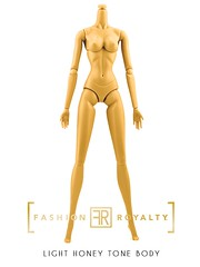 IT FR-Replacement Body - LIGHT HONEY Tone (JennFL2) Tags: integrity toys frreplacement body skin tones it skintone