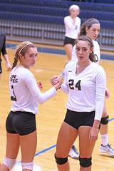 IMG_7845 (SJH Foto) Tags: girls volleyball high school york delone catholic team teen teenager substitution sub rotation