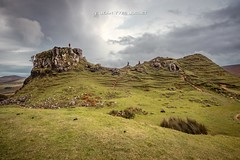 Fairy Glen - Trotternish - Isle of Skye - Scotland) ( Jean-Yves JUGUET ) Tags: highland scotland isleofskye highlander autumn loch glencoevalley clouds landscape sunset sunshine applecrosspeninsula lochaber