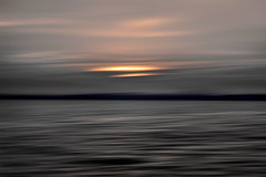 line_1715 (Valerie Guseva) Tags: sea seascape abstract water waves light lights long exposure surreal icm impression crimea russia smooth smudge hypnotic outdoor sky ocean horizon sunset clouds nature landscape seaside shore cloud line illusion warm silk blur red focus orange sand sun black dark