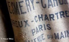 Flour sack (patrick_milan) Tags: texture tissus bag sac decoration scarf sack