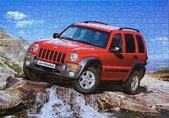 Jeep Cherokee - Castorland - 500 Teile (.Francine) Tags: puzzle auto