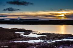 Sundown Across the Loch! (BGDL) Tags: lightroomcc nikond7000 bgdl landscape afsnikkor18105mm13556g loch newcumnock lochsidehotel sundown sunset