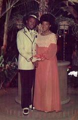 Prom Night (~ Lone Wadi Archives ~) Tags: prom promnight promenade portrait africanamerican blackpeople lostphoto foundphoto retro 1970s mysterious unknown