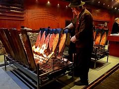 #Bonn #smoked #salmon  #Weinachtsmarkt (RenateEurope) Tags: bonn smoked salmon